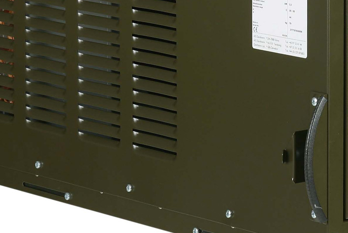 AC-M5W container cooling